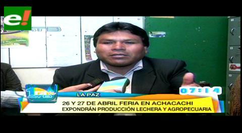 Preparan Feria Integral Agropecuaria en Achacachi