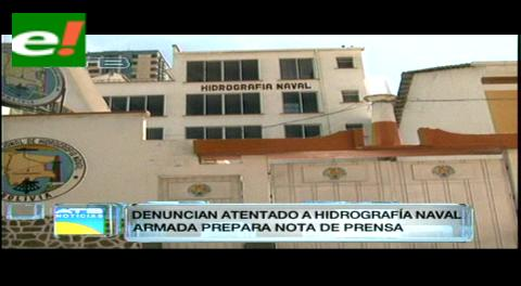 Militares denuncian atentado con bombas molotov