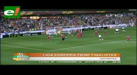 Sevilla y Benfica disputarán la final de la Europa League