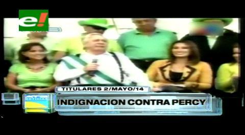 Titulares: MSM prepara querella penal en contra de Percy Fernández