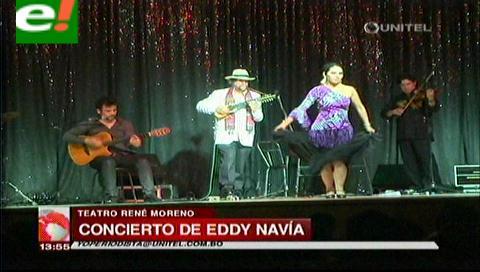 Exitoso concierto de Eddy Navía