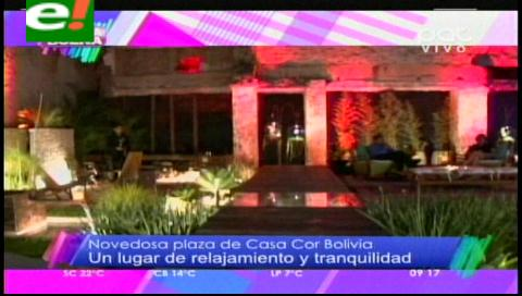La plaza de ensueño de Casa Cor Bolivia