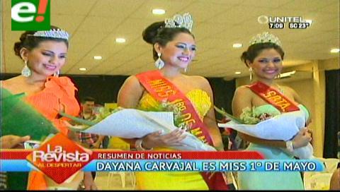 Miss Villa Primero de Mayo 2014 es Dayana Carvajal