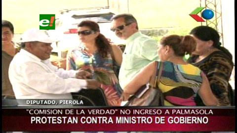 """Comisión de la """"verdad"""" no pudo ingresar a Palmasola"""
