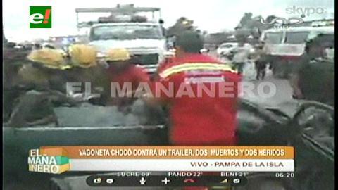 Accidentes de tránsito causan cinco muertes y 31 personas heridas en rutas nacionales