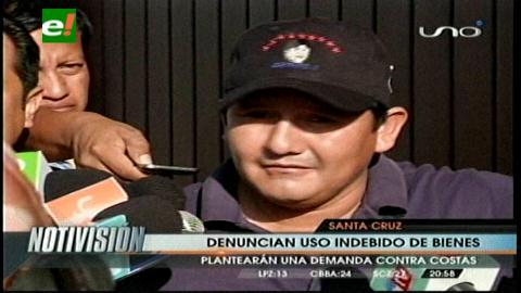 Asambleístas del MAS demandarán a Rubén Costas por uso indebido de bienes del Estado