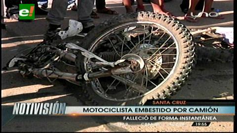 Dos motociclistas pierden la vida en hechos de tránsito