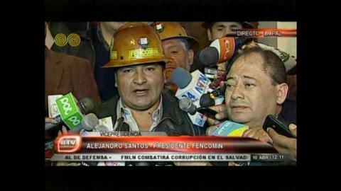 Gobierno y mineros acuerdan debatir polémicos artículos de la Ley Minera