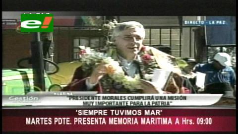 García Linera: «Evo lleva a La Haya la esperanza de todos los bolivianos»