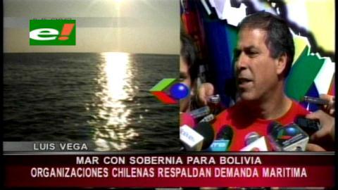 Varias organizaciones sociales de Chile respaldan demanda marítima de Bolivia