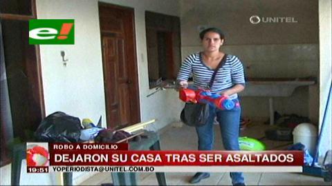 Santa Cruz: Familia se cambia de barrio tras sufrir un atraco en su casa