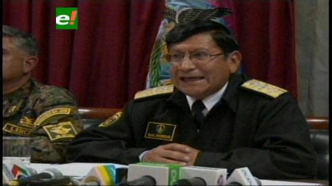 Comandante de las FFAA: Supuesta discriminación no es pretexto para la sedición y promover un golpe de Estado