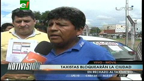 Taxistas marcharán exigiendo la anulación del taxímetro en Santa Cruz