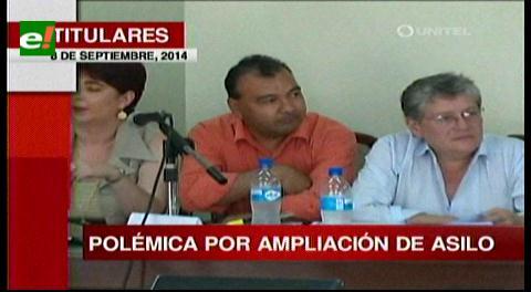 Titulares: Ampliación de asilo a Sosa genera polémica entre gobierno y oposición