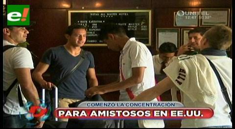 Selección boliviana se prepara en Santa Cruz