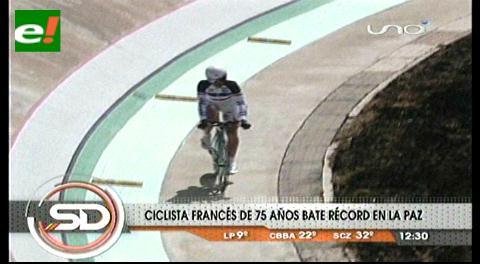 Bares establece un récord mundial