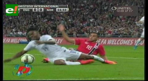 Inglaterra vs. Noruega: Wayne Rooney anotó el 1-0