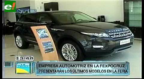 Sector automotriz listo para la Expocruz 2014