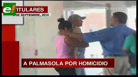 Titulares: Mujer que asesinó a su novio a la cárcel de Palmasola
