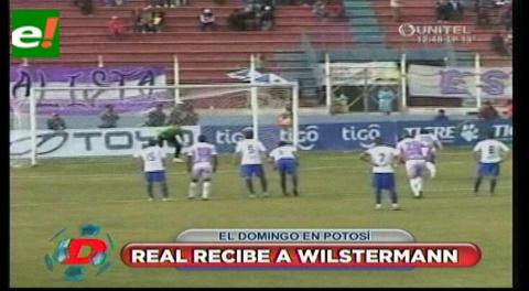 Wilstermann vs Real Potosí  se afinan para el encuentro del domingo