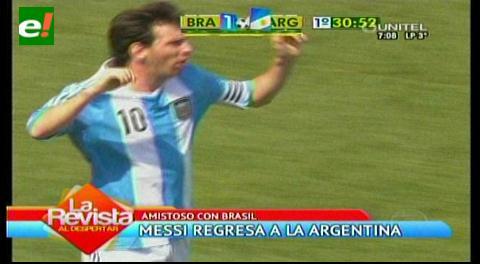 Messi regresa a la selección argentina mientras Tévez sigue marginado