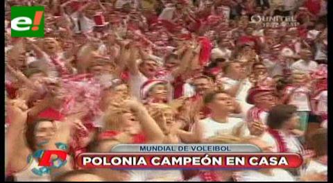 Mundial de Voley: Polonia campeón en un torneo que dejó a una Argentina sin sorpresas