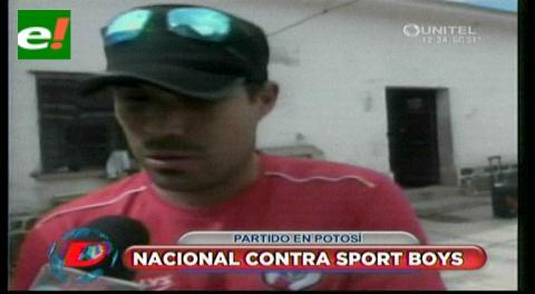Nacional Potosí  vs Sport Boys se enfrentan