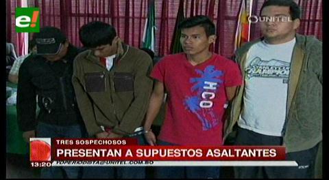 Capturan a tres jóvenes que asaltaban a estudiantes del Uboldi y Don Bosco