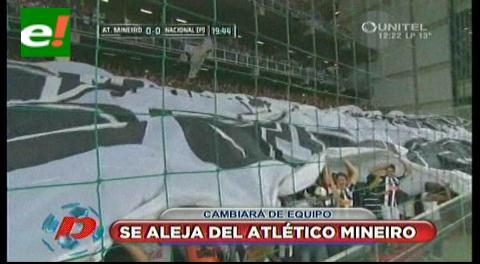 Ronaldinho Gaúcho acuerda su salida del Atlético Mineiro