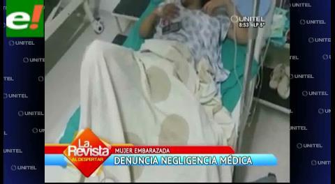 Denuncian negligencia médica en hospital del Distrito 10