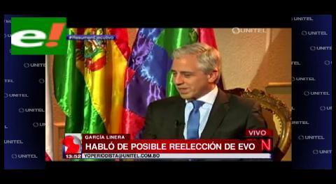 """Vicepresidente: """"Creo que sería bueno y necesario que Evo Morales se vuelva a postular"""""""