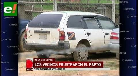 Policía confirmó que hay dos detenidos por intento de secuestro