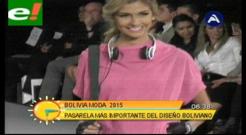 Arrancó el Bolivia Moda 2015