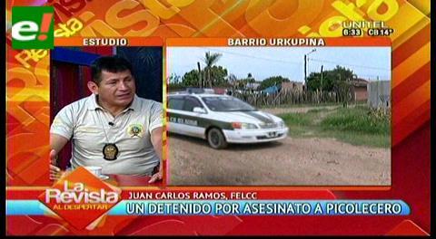 Detienen a sospechoso de asesinar a un heladero en la Pampa de la Isla