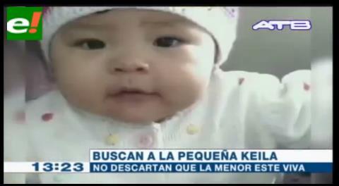 Realizarán un rastrillaje para encontrar el cuerpo de la bebé Keila
