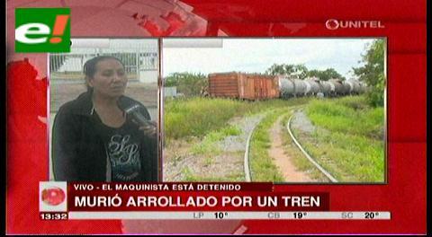 Hombre muere arrollado por un tren