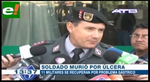 Ejército asegura que la muerte de un conscripto en Apolo es caso aislado