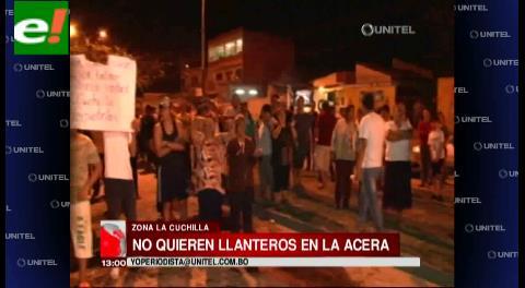 Vecinos de La Cuchilla amenazan con radicalizar medidas para sacar a llanteros