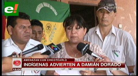 "Indígenas amenazan con ""chicotear"" a Damián Dorado"
