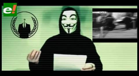 """Anonymous le declaró """"la guerra total"""" a ISIS"""