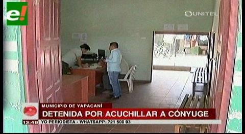 Mujer detenida por intentar cercenarle el pene a su pareja