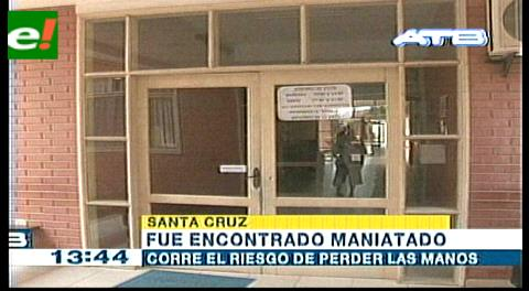 Guardia de seguridad asaltado en riesgo de perder sus manos