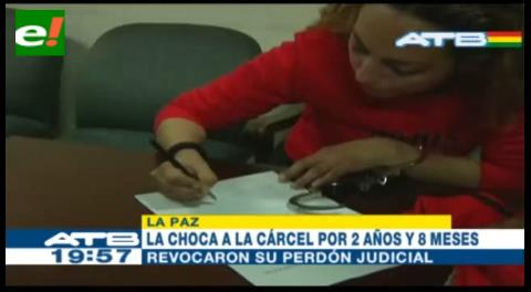 Revocan libertad condicional de la «Choca» por un caso anterior de robo agravado