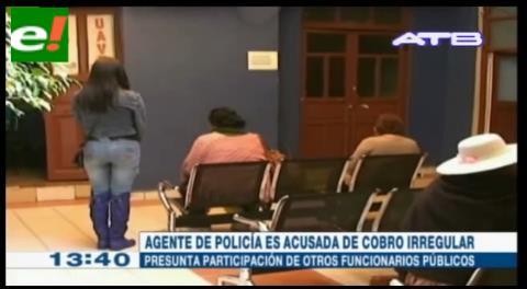 Policía es enviada a prisión por realizar cobros ilegales