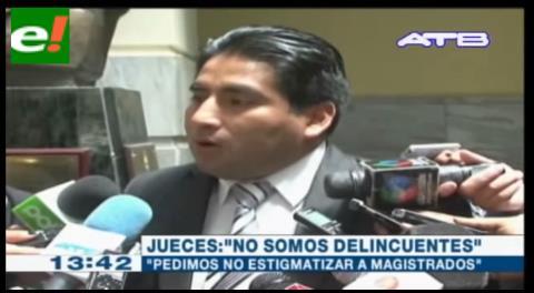 La Asociación de Jueces de La Paz pide investigar la existencia de redes de corrupción judicial