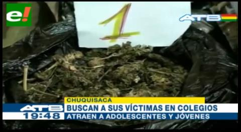 Población en alerta por aumento de narcotráfico en Sucre