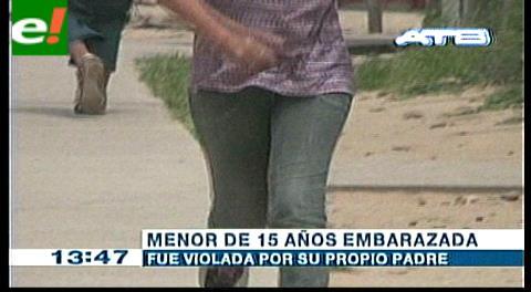 Padre viola a su hija de 15 años y la embaraza