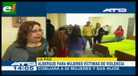 Alcaldía de La Paz entrega el primer albergue para mujeres víctimas de violencia