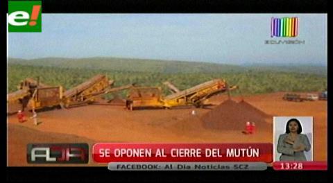 Directorio de siderúrgica El Mutún rechaza cierre