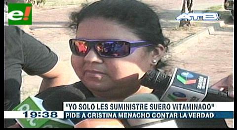 "Caso hermanos Zapana. Enfermera: ""Yo solo les suministré suero vitaminado"""